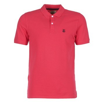 Vêtements Homme Polos manches courtes Selected ARO Rouge