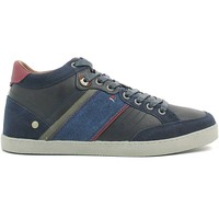 Chaussures Homme Baskets montantes Wrangler WM162101 Chaussures lacets Man Navy