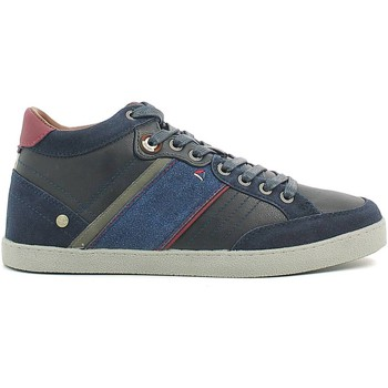 Chaussures Homme Baskets montantes Wrangler WM162101 Chaussures lacets Man Navy Navy