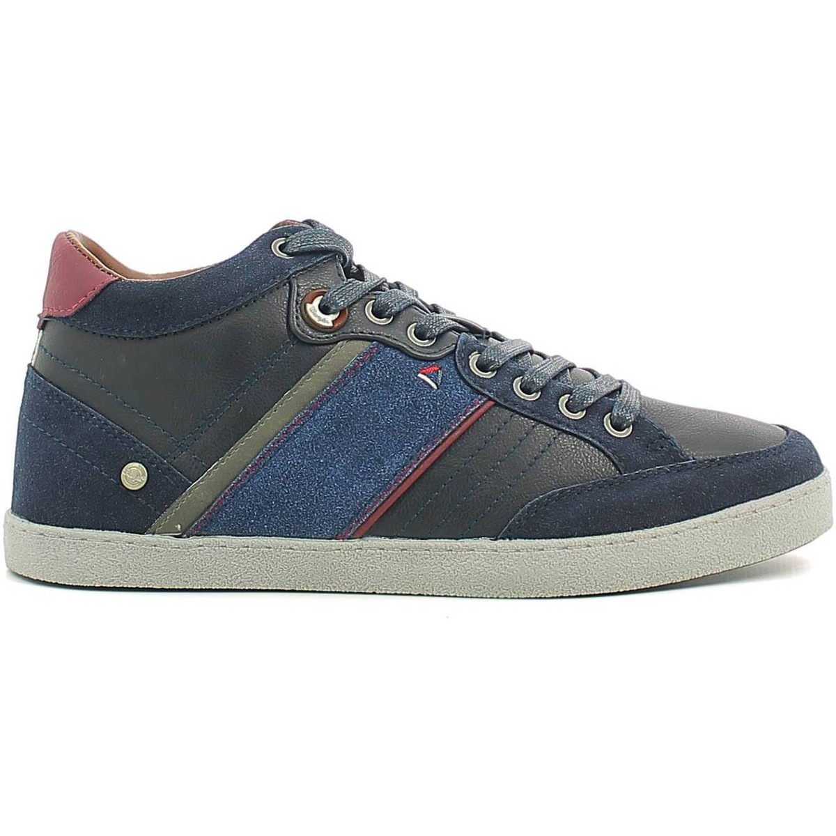 Basket montante Wrangler WM162101 Chaussures lacets Man Navy