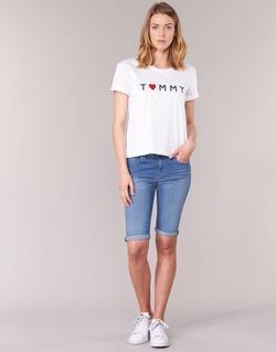 Vêtements Femme Shorts / Bermudas Tommy Hilfiger VENICE RW BERMUDA ELOISE Bleu