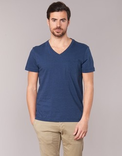 Vêtements Homme T-shirts manches courtes Tommy Hilfiger HTR END ON END Marine