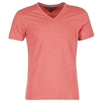 Vêtements Homme T-shirts manches courtes Tommy Hilfiger HTR END ON END Rose