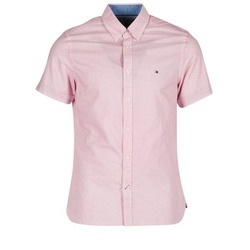 Vêtements Homme Chemises manches courtes Tommy Hilfiger TAMBER GEO Rose