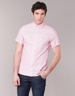 Vêtements Homme Chemises manches courtes Tommy Hilfiger TAMBER GEO Rose
