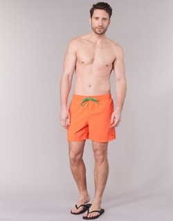 Vêtements Homme Maillots / Shorts de bain Tommy Hilfiger SOLID SWIM TRUNK Orange