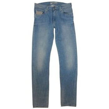 Vestes Teddy Smith Jeans Ritter Rock Used bleu 350x350