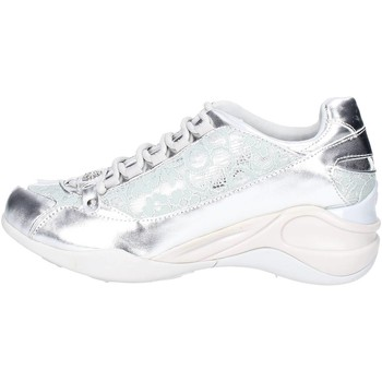 Baskets basses Fornarina PEFSE8922WMA9001 Sneakers Femme Cuir Synthetique  Argent