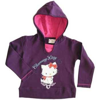 Vêtements Fille Pulls Dessins Animés Sweat à capuche violet