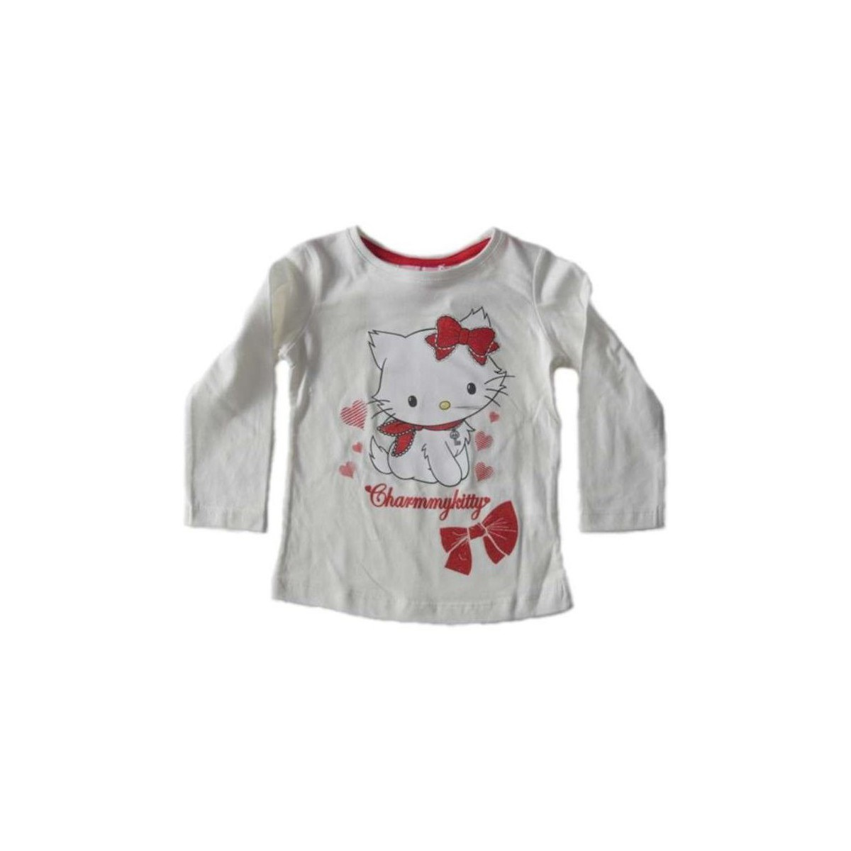 Sanrio T-shirt à manches longues Charmmy Kitty ivoire