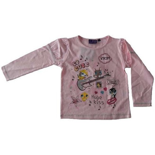 T-shirts & Polos Littlest Petshop T-shirt à manches longues rose 350x350