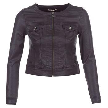Vêtements Femme Vestes en jean Les P'tites Bombes OMILATE Noir