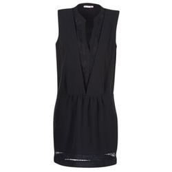 Vêtements Femme Robes courtes Les P'tites Bombes JOUNE Noir