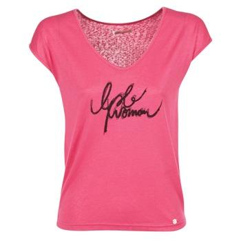 Vêtements Femme T-shirts manches courtes Les P'tites Bombes CHOUBERNE Rose