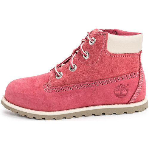Chaussures Enfant Boots Timberland Pokey Pine 6-inch Boots Bébé rose