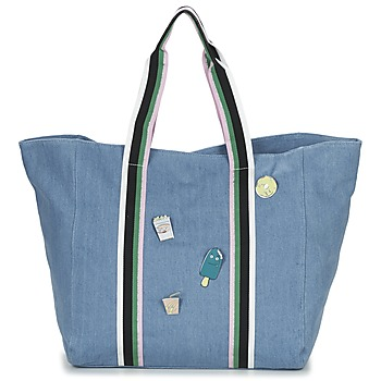 Sacs Femme Cabas / Sacs shopping Paul & Joe Sister HASSINA Bleu