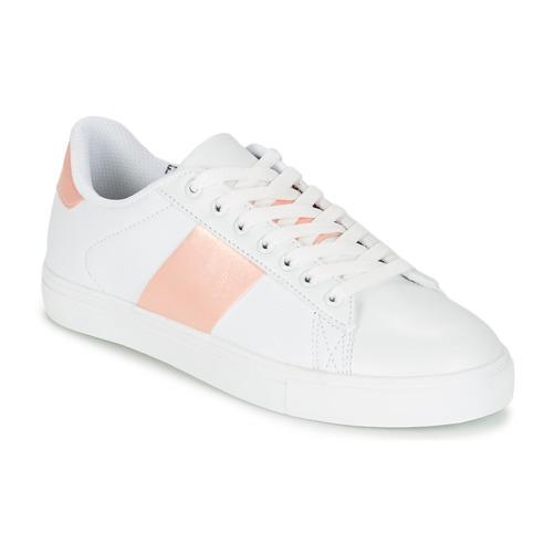 Chaussures Femme Baskets basses Spot on REVILLIA Blanc / Rose