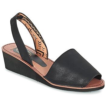 Chaussures Femme Sandales et Nu-pieds Spot on MELOPE Noir
