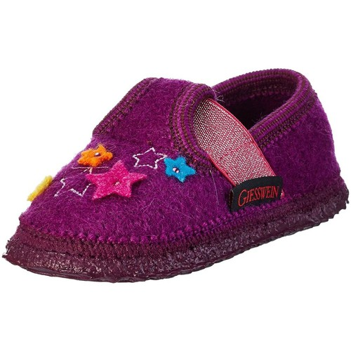 Chaussures Fille Chaussons Giesswein trebur violet