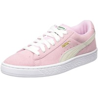 Chaussures Femme Baskets basses Puma suede classic + f rose