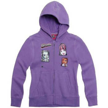 Vêtements Enfant Gilets / Cardigans Monster High Gilet zippé Violet