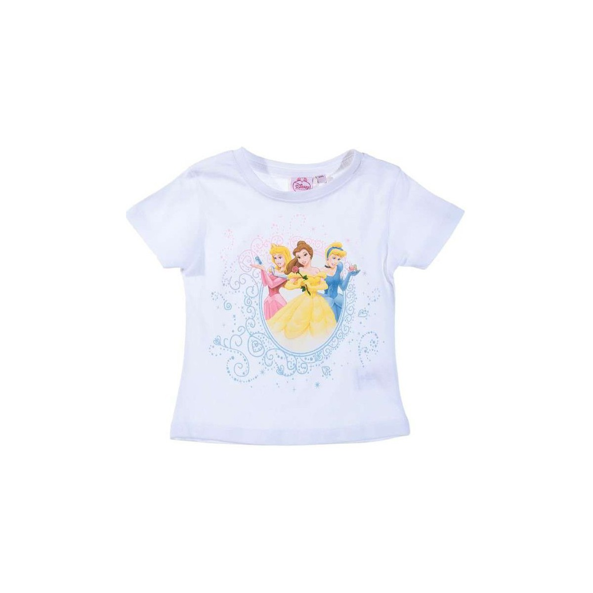 Disney T-shirt à manches courtes  Princesses blanc