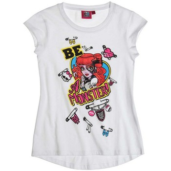 T-shirts & Polos Mattel T-shirt à manches courtes Monster High blanc 350x350