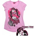 Vêtements Fille T-shirts manches courtes Monster High T-shirt à manches courtes violet