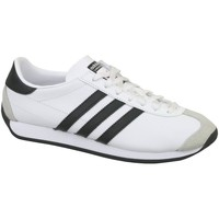 Chaussures Enfant Baskets basses adidas Originals Country OG J Blanc