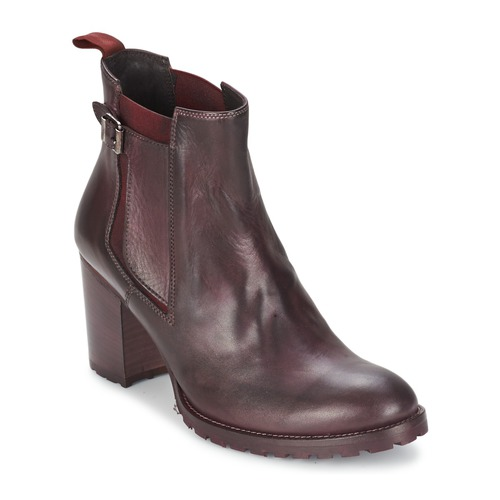 Chaussures Femme Bottines Liebeskind NAPOLI Rouge / Noir