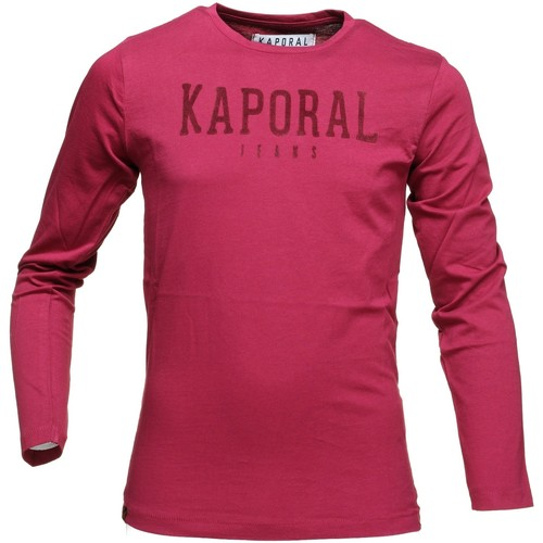 T-shirts & Polos Kaporal Gesso Burgundy Rouge 350x350