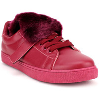Chaussures Femme Baskets mode Cendriyon Baskets Bordeaux Chaussures Femme Bordeaux