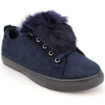 Chaussures Femme Baskets mode Cendriyon Baskets Bleu Chaussures Femme Bleu