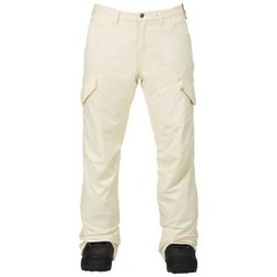 Vêtements Femme Pantalons Burton Pantalon De Ski  Wb Fly Pt Canvas Cream
