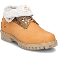 Chaussures Homme Bottines Timberland Roll Top Marron