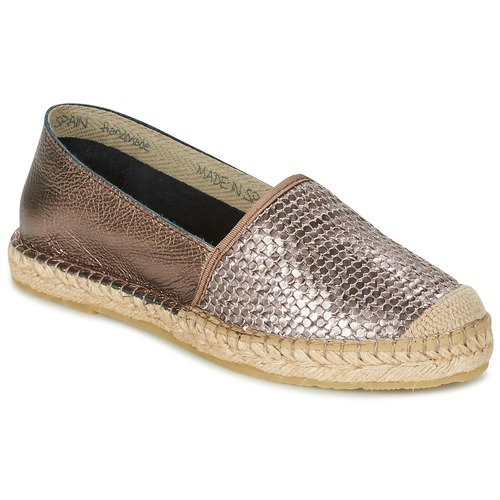 Chaussures Femme Espadrilles Betty London GERAMO Bronze