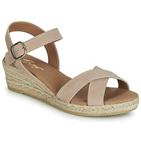 Chaussures Femme Sandales et Nu-pieds Betty London GIORGIA Taupe