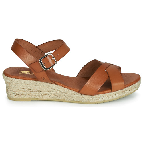 Femme Camel Sandales Nu London pieds Giorgia Betty Et oCQBeWrdEx