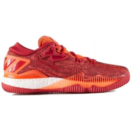 Chaussures Homme Baskets basses adidas Originals Chaussure de Basketball  Crazy Light Boost 2016 Low Solar Red po