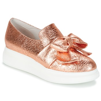 Chaussures Femme Slip ons Jeffrey Campbell BRITNY Rose / Doré