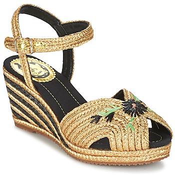 Chaussures Femme Sandales et Nu-pieds Miss L'Fire RENEE Doré