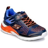 Chaussures Garçon Multisport Skechers ERUPTERS II Marine / Orange