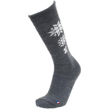 Accessoires Chaussettes Sd Best Montagne Etoile mb anth ski Gris anthracite chiné