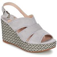 Chaussures Femme Sandales et Nu-pieds Spiral PAULA Gris