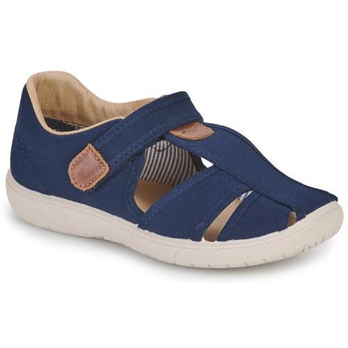 Chaussures Garçon Sandales et Nu-pieds Citrouille et Compagnie GUNCAL Marine