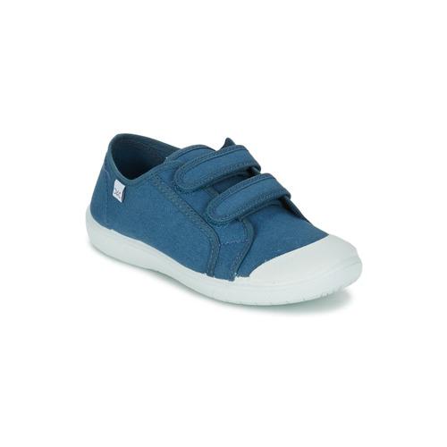 Chaussures Fille Baskets basses Citrouille et Compagnie GLASSIA Bleu