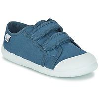 Chaussures Enfant Baskets basses Citrouille et Compagnie GLASSIA Bleu