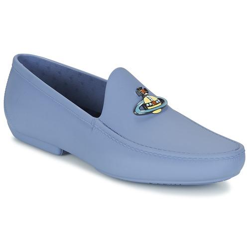 Chaussures Homme Mocassins Vivienne Westwood ENAMELLED ORB MOC Bleu