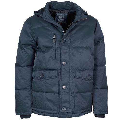 Vêtements Homme Parkas Freeman T.Porter MELLOW COTTON WAX Marine