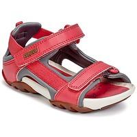 Chaussures Fille Sandales et Nu-pieds Camper OUS Rouge